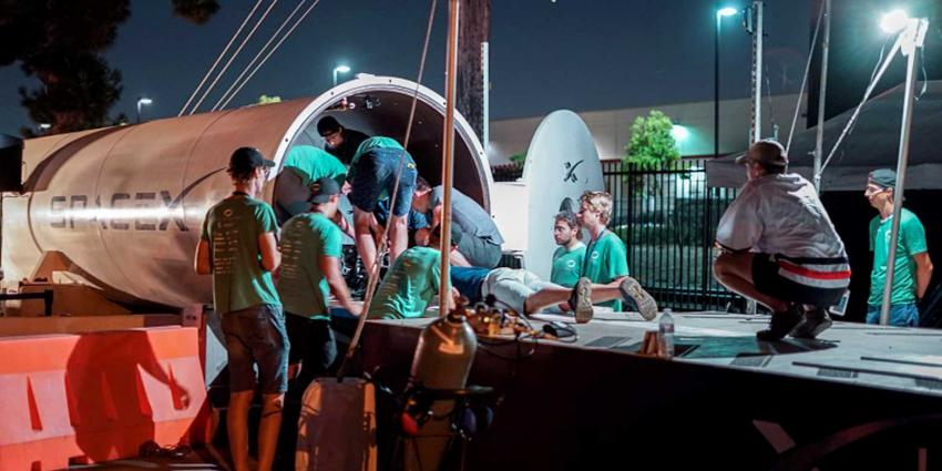 Delft Hyperloop toch nog door naar finale bij SpaceX