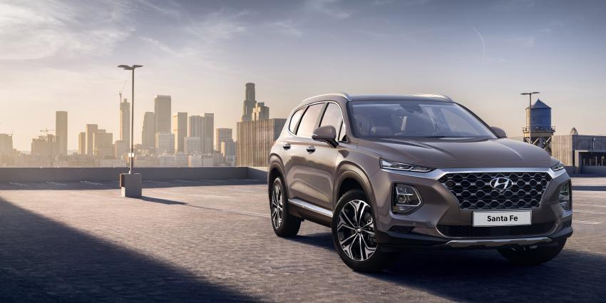 Hyundai onthult eerste beelden van de Santa Fe