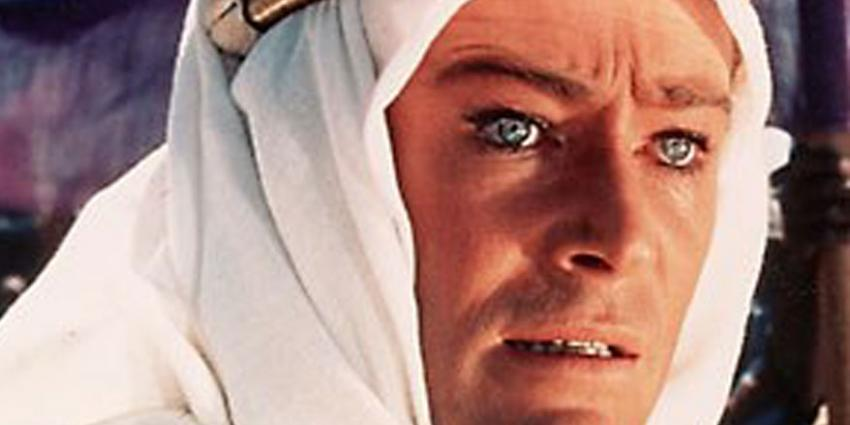 Foto van Peter O'Toole   Peter O'Toole in Lawrence of Arabia (1962)
