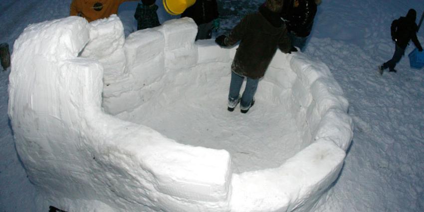 foto van iglo ijskoepel | fbf