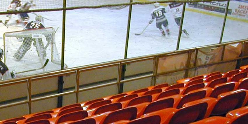Grimmige sfeer in uit-vak bij ijshockeyfinale