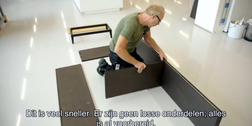 IKEA komt met meubels waar geen schoef meer aan te pas komt