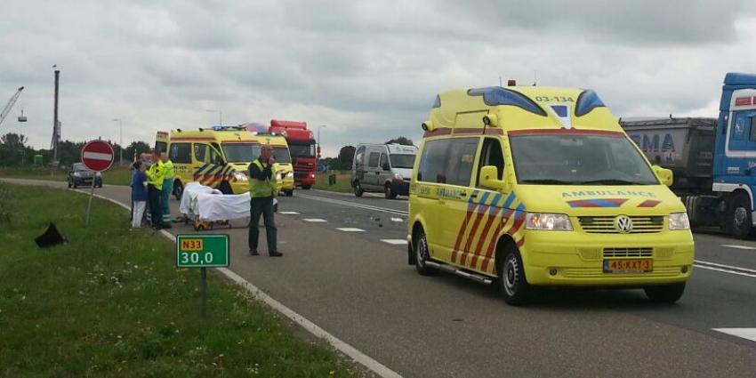 Foto van aanrijding N33 | Stichting VIP | www.parkstadveendam.nl