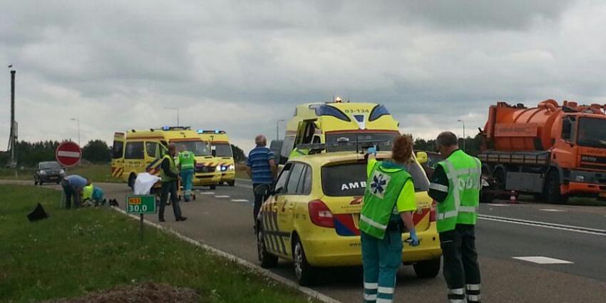 Gewonden bij aanrijding op N33 bij Wildervank