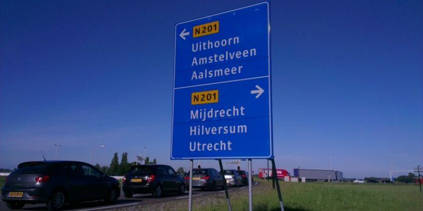 Opnieuw verkeerschaos rondom Uithoorn