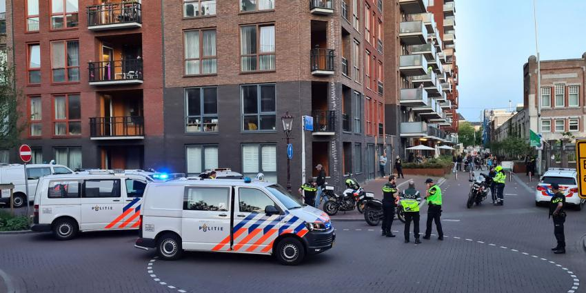 Steekpartij Amsterdam