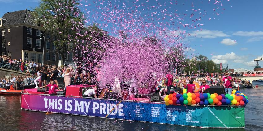 Thema Pride Amsterdam 2018 is 'Heroes'