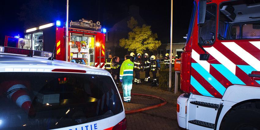 Veel rookontwikkeling bij brand in woning in Oirschot