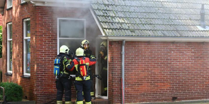 Brand door kortsluiting in vaatwasser