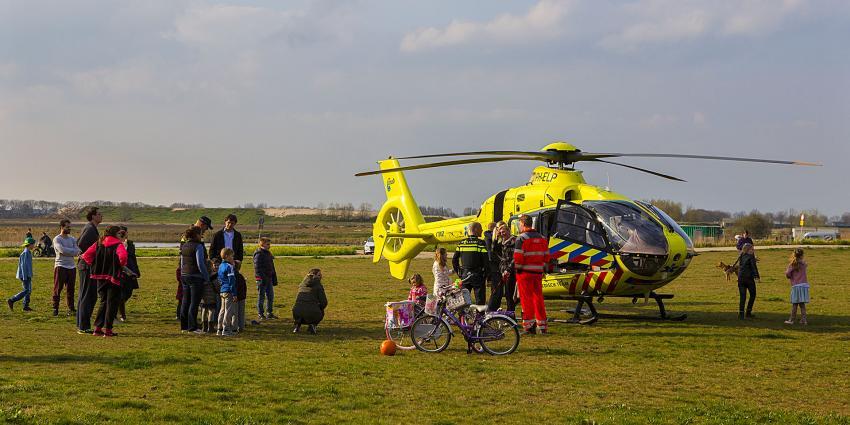 Man zwaargewond na val van fiets in Rosmalen