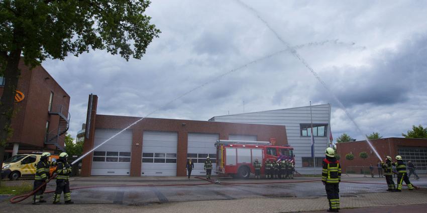 Brandweer in Boxtel maakt ereteken ter nagedachtenis aan omgekomen collega's