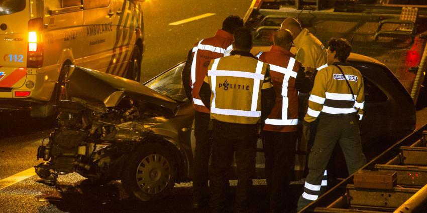 Vrouw gewond bij botsing op snelweg A2 bij Best