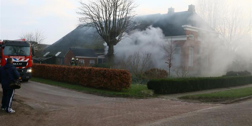 Boerderij brand Eexterveen