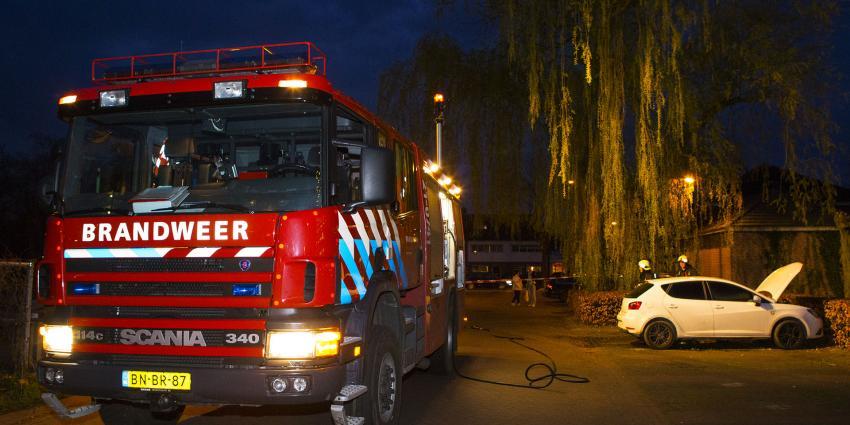 Gestolen auto uitgebrand in Boxtel