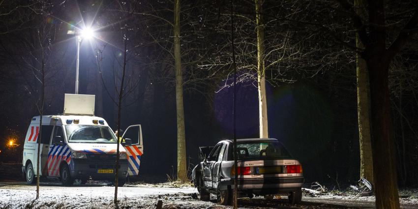 Politie schiet op inbrekers tijdens wilde achtervolging