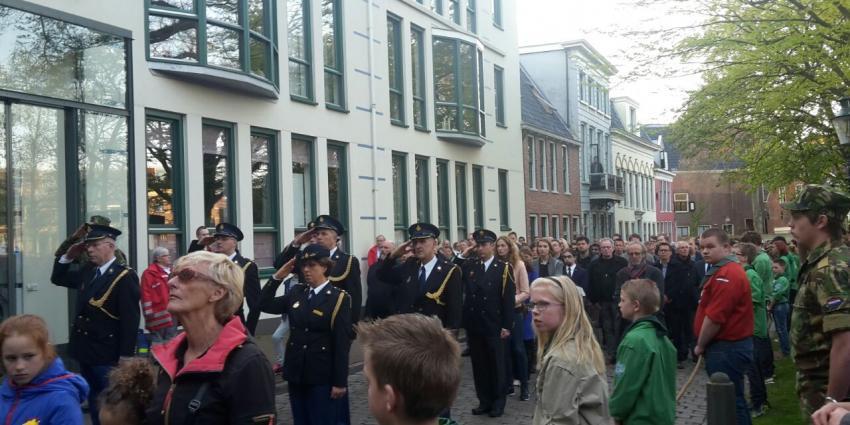 Groningen twee minuten stil