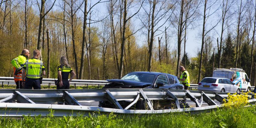 Forse vertraging op A2 door ongeval