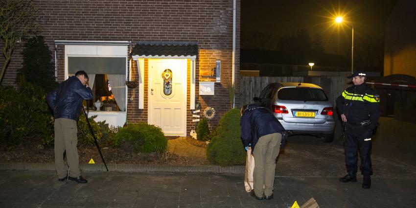 Politie lost waarschuwingsschoten bij aanhouding inbrekers