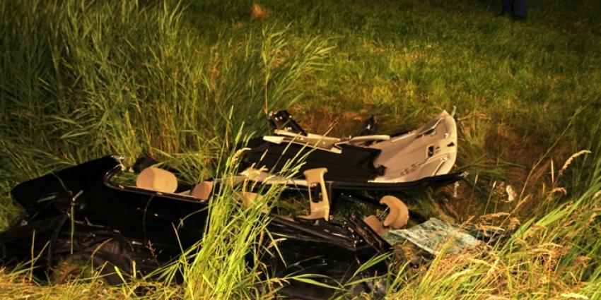 Foto van ongeval N33 bij Holwierde | MV
