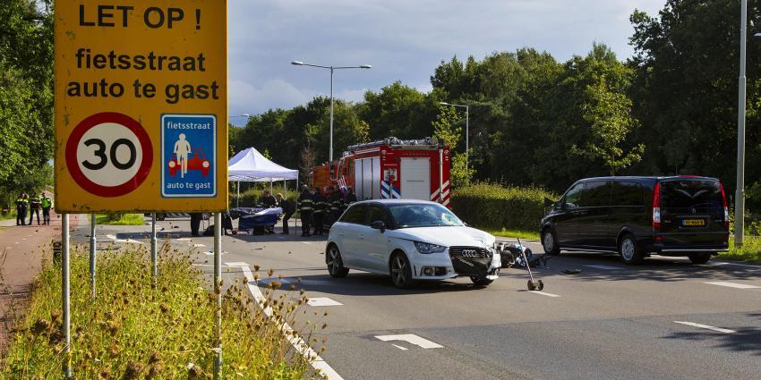 Bromfietser omgekomen bij aanrijding in Best