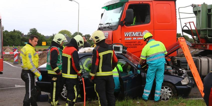 Foto van aanrijding Rolde | Van Oost Media | www.vanoostmedia.nl