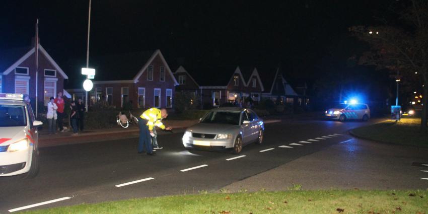 Fietser gewond bij aanrijding in Appingedam