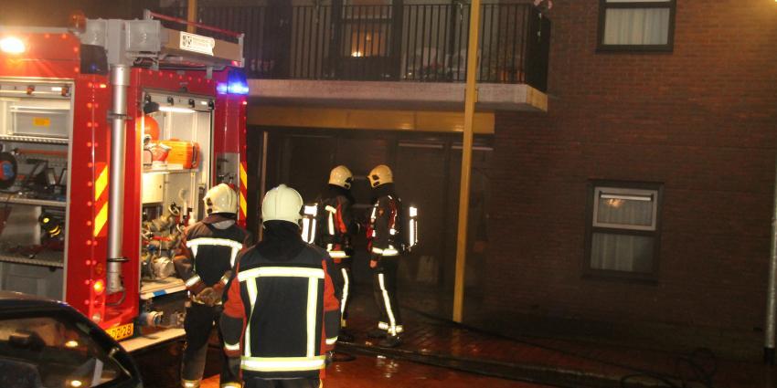 Bewoonster gewond bij woningbrand in Delfzijl