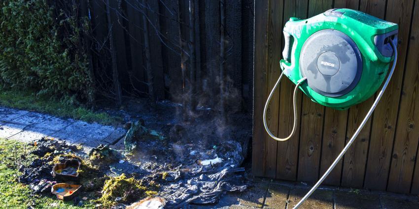 Forse rookontwikkeling bij buitenbrand in Liempde