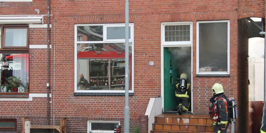 Brand in woning Delfzijl