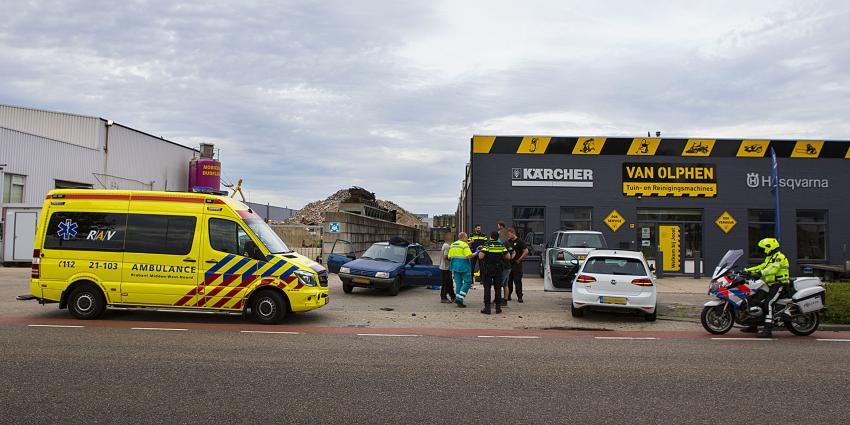 Afslaande automobilist geramd op industrieterrein Ladonk in Boxtel