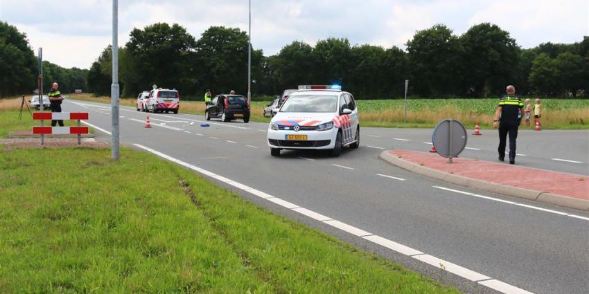 Gewonden bij aanrijding in Gasselte