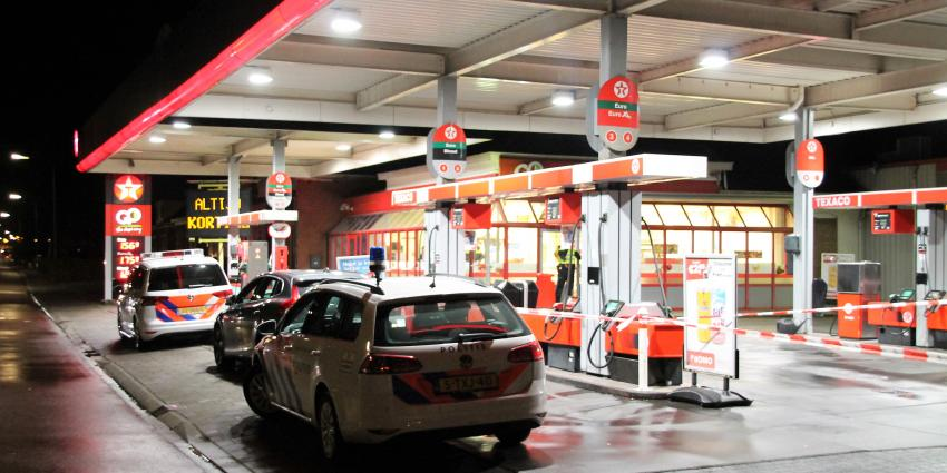 Overval op tankstation in Appingedam