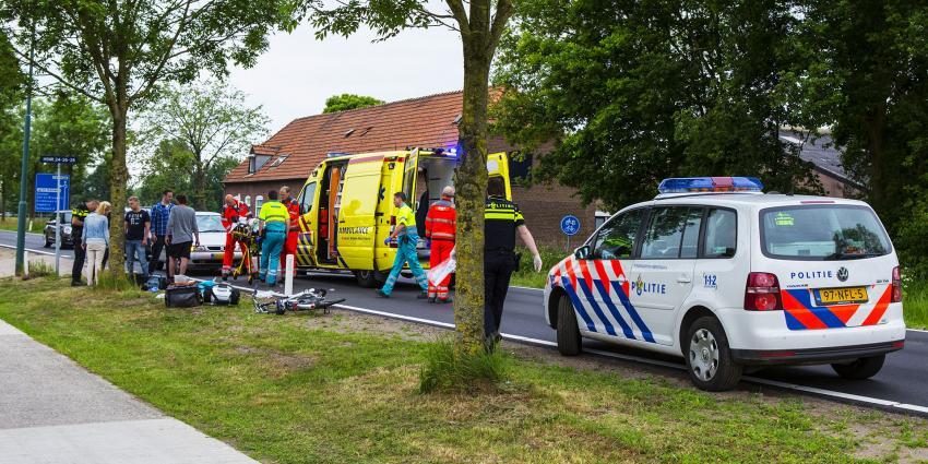 Fietser geschept door automobilist in Sint-Oedenrode