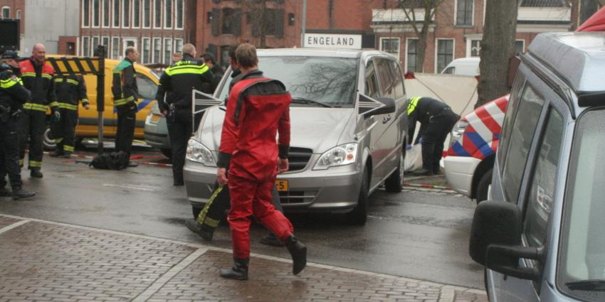 Politie onderzoekt dode man Noorderhaven