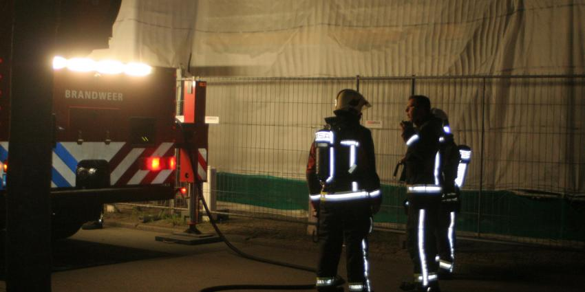 Brand in schouwburg Groningen