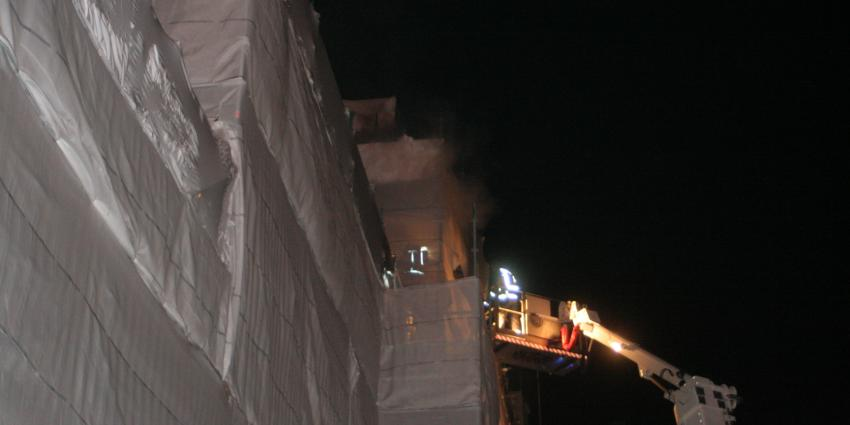 Brand in schouwburg in Groningen