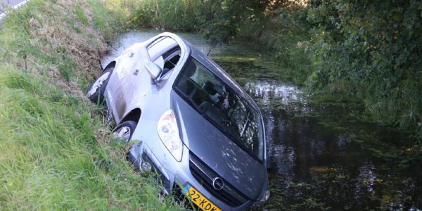 Auto in Schiedam te water