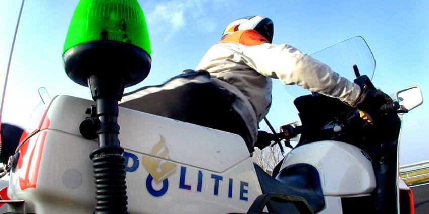 Politie gaat groen zwaailicht inzetten voor attentie om inbraken
