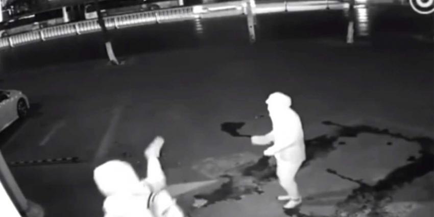 Video toont megablunder inbrekers