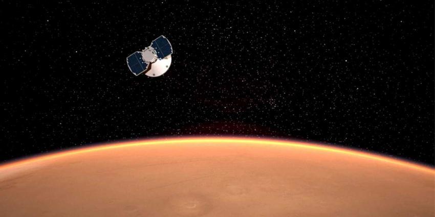 NASA's ruimtevaartuig InSight maakt geslaagde landing op Mars