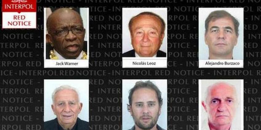FIFA-officials op lijst Interpol