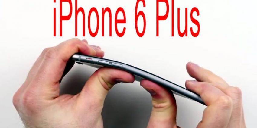 Nieuwe iPhone 6 Plus buigt pas door bij 31 kilo