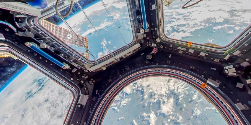 Kijk rond in het International Space Station