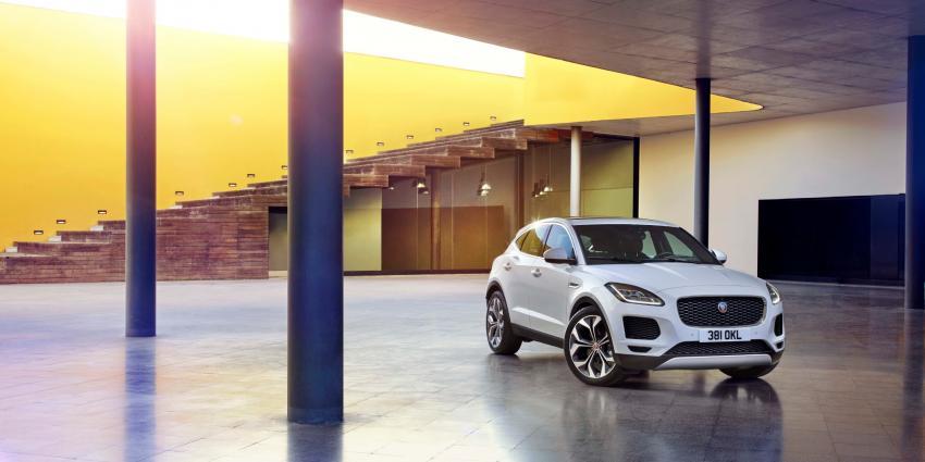 Jaguars design en dynamiek in een compacte vijfzits performance-SUV