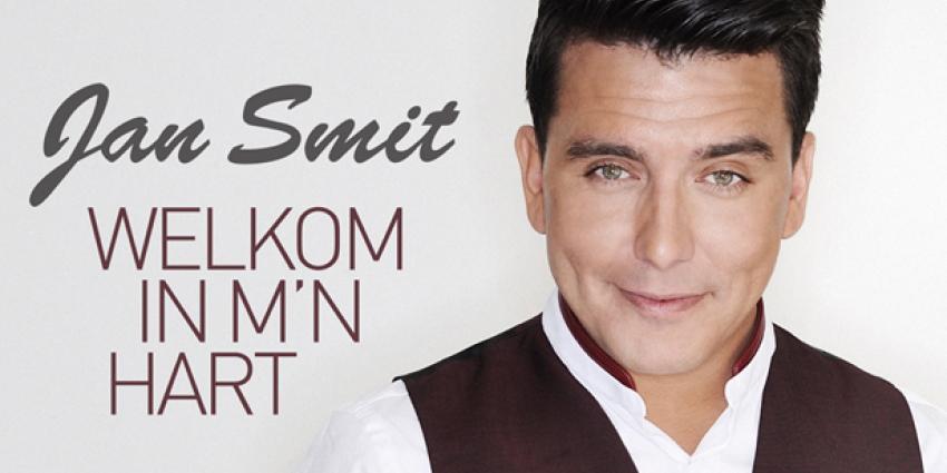 Jan Smit heet fans welkom in zijn hart