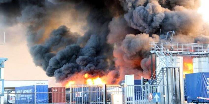 foto van grote brand Oosterhout | Jeroen Stuve