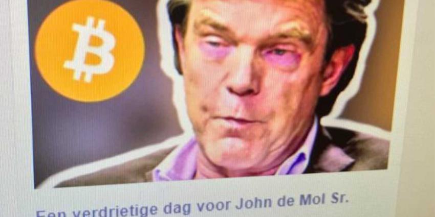 Naam John de Mol misbruikt bij Bitcoin-oplichting