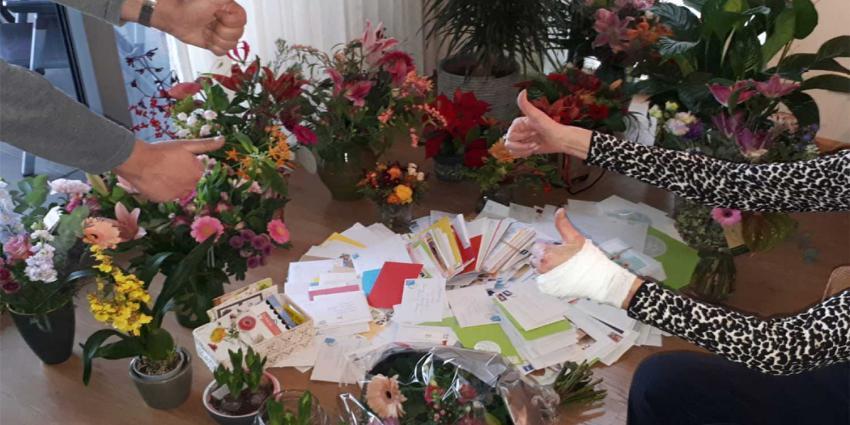Steunbetuigingen overvallen bejaarde vrouw (85) 'dragen bij aan herstel'