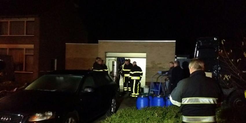 Politie stuit in Kaatsheuvel op twee doden en een drugslab