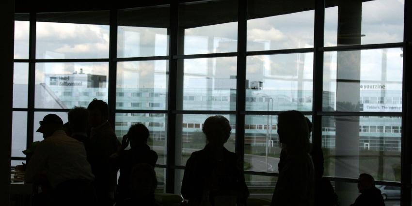 Krakers richten ravage aan in kantoorpand in Eindhoven